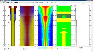 CEMPRO+ - CEMPRO With Displacement Efficiency Petroleum Engineering Software Application