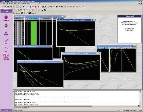 Amethyste Petroleum Engineering Software Application