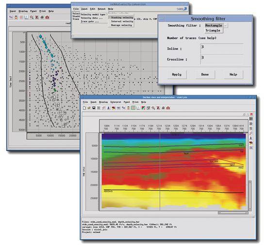 VelMod Petroleum Engineering Software Application