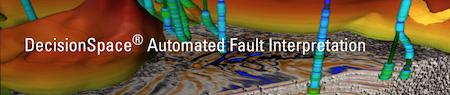 DecisionSpace® Automated Fault Interpretation Petroleum Engineering Software Application