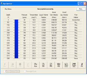 WELLFLO Petroleum Engineering Software Application