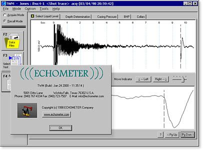 ECHOMETER Total Well Management (TWM) Petroleum Engineering Software Application
