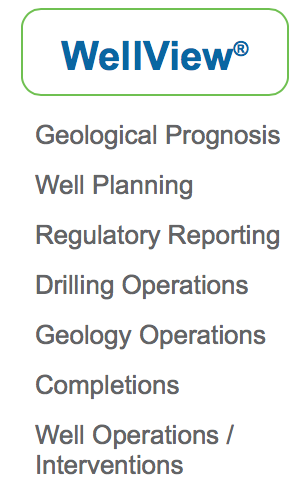 WELLVIEW Petroleum Engineering Software Application