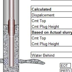 Balanced Cement Plugs Petroleum Engineering Software Application