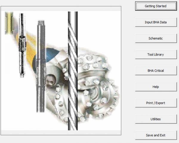 BHA Design 32 Bit Petroleum Engineering Software Application