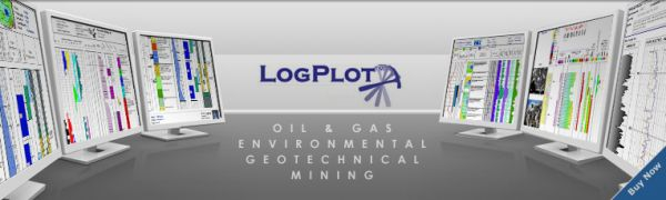 LogPlot Petroleum Engineering Software Application