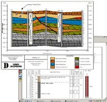 QuickLog, QuickCross/Fence, QuickGIS, QuickSoil Petroleum Engineering Software Application