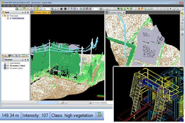 PointCloudViz Petroleum Engineering Software Application