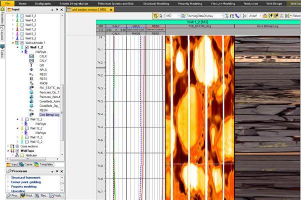 Core Image Processor Petroleum Engineering Software Application