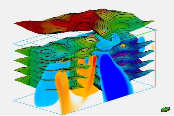 Gravity Magnetic Modeling and Inversion toolkit Petroleum Engineering Software Application