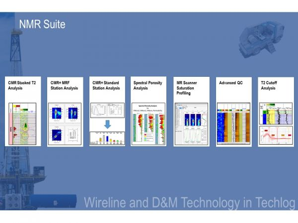 NMR Suite Petroleum Engineering Software Application
