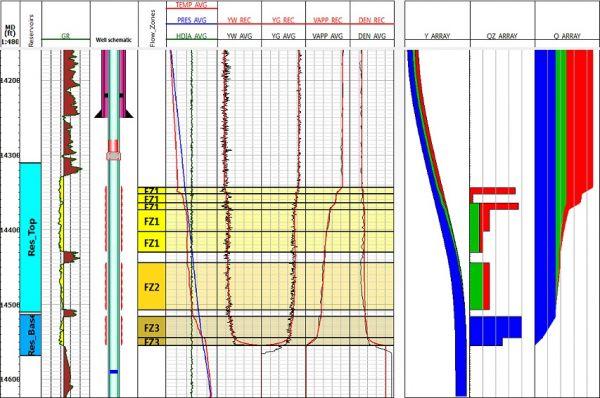 Production Logging Petroleum Engineering Software Application