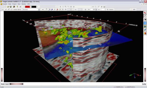 kogeo seismic toolkit Petroleum Engineering Software Application