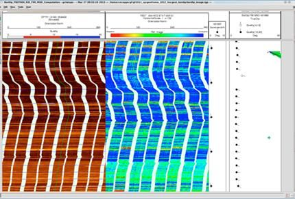 GeoFrame Dip and Image Processing (DIP) Petroleum Engineering Software Application
