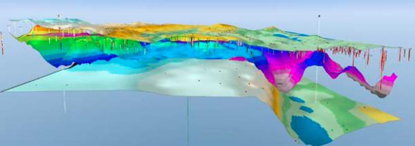 GeoScene3D Petroleum Engineering Software Application
