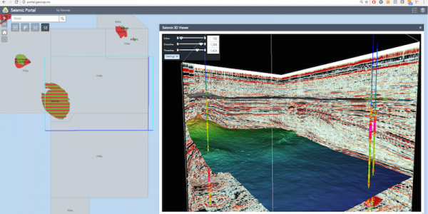 Subsurface Portal for ArcGIS Petroleum Engineering Software Application