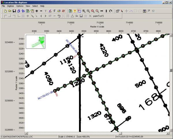 LEAMAP Seismic Basemap Digitising Petroleum Engineering Software Application