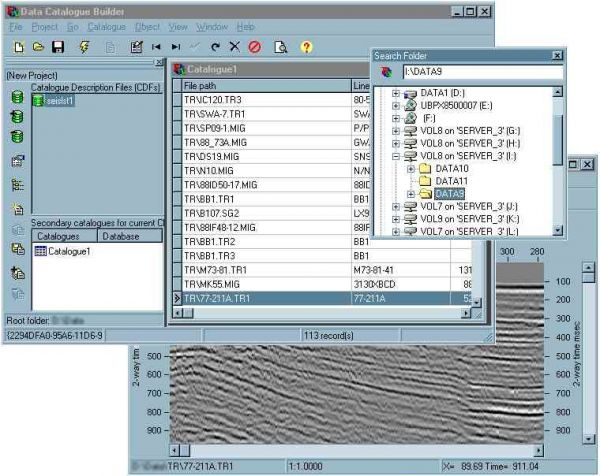 LEACAT Archiving and Cataloguing Petroleum Engineering Software Application