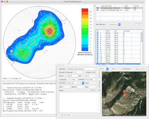 Stereonet 9 Petroleum Engineering Software Application