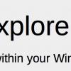 Reader/Explorer Preview