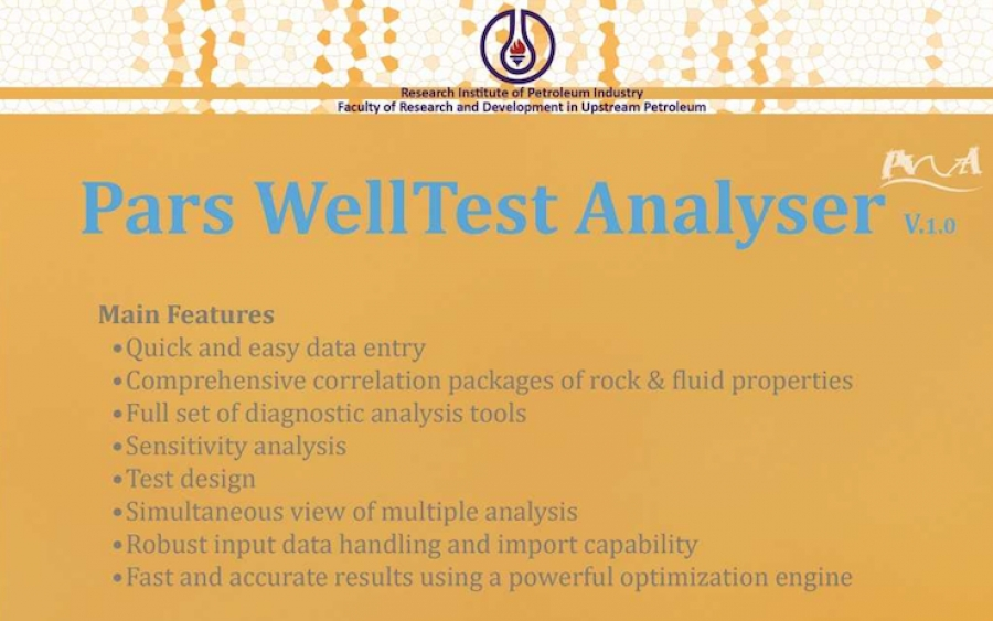 Pars WellTest Analyser (PWA)
