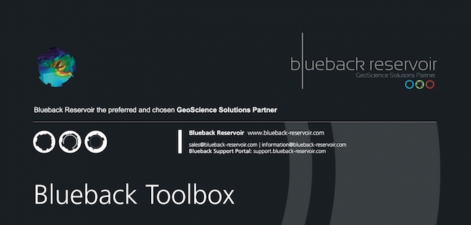 Blueback Toolbox Plugin For Petrel